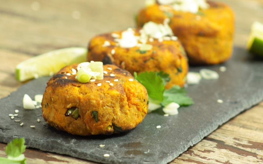Sweet Potato Satay Patties