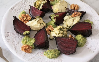 Beetroot and Labneh Healthy Number