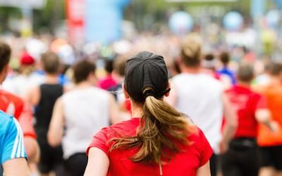 April in London – celebrating the 35th London Marathon