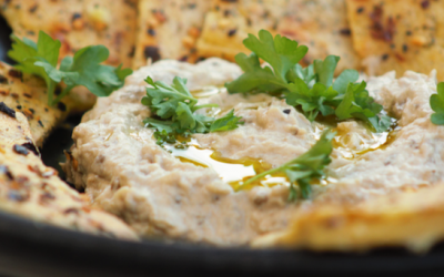 Aubergine and Tahini Dip