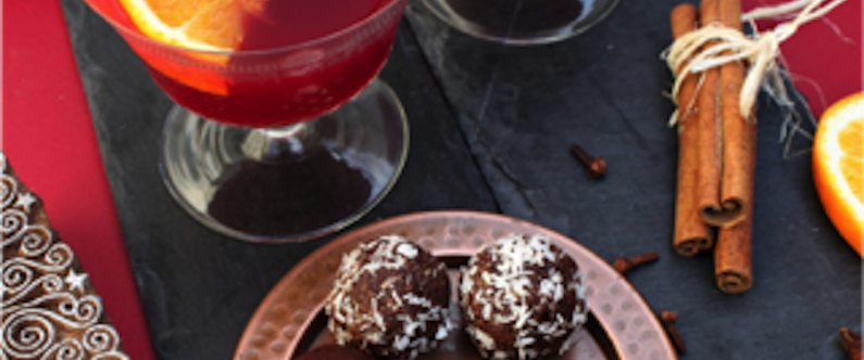 Cacao Festive Treats with Spiced Mulled Mocktails