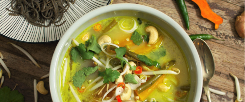 Squash and Coconut Laksa